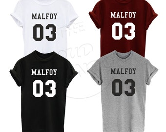 Malfoy 03  House of Slytherin Tumblr Magic Fashion Unisex Tshirt Top