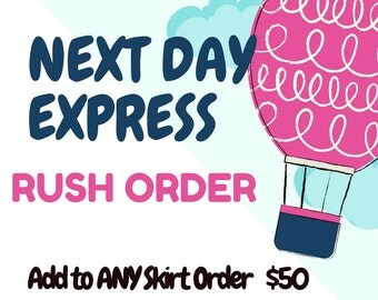 NEXT DAY EXPRESS - Rush Order Add-On