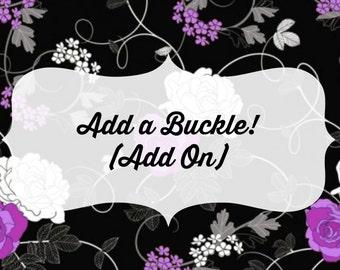 Add a Buckle! (Add On)