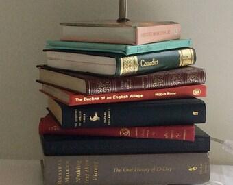 Table Lamp Christmas Gift Book Lamp Side Light Vintage Lamp Art Book Light  Kindle User Bedside