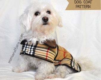 Dog Coat Pattern Bundle All Sizes, Sewing Pattern, Dog Clothes Pattern