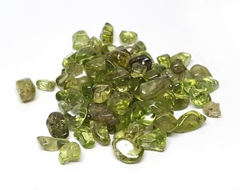 15g Small Tumbled Peridot Pack