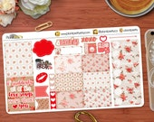 Vintage Love Stickers Petite Planning Kit Perfect for your Erin Condren Life Planner