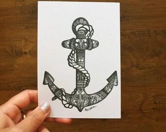 Anchor // Postcard