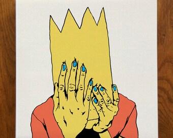 Depressed Bart