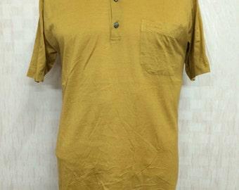 Vintage 80s CELINE HOMME Polo Shirt Single Pocket