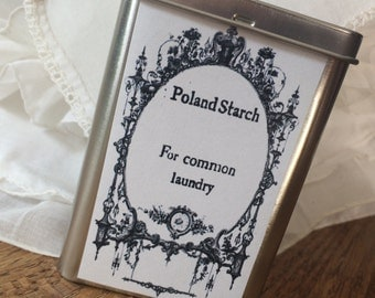 Poland Starch for Everyday Eighteenth Century Laundry