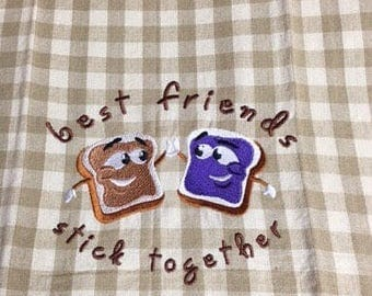 Friends Stick Together Towel