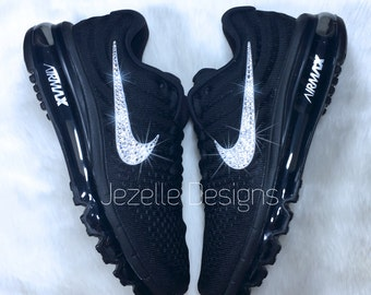 Nike Air Max 2017 Bling Shoes with Swarovski Crystals - NEW! Nike Air Max Shoes - Bling Nike Running Shoes, Women's Nike with Crystals