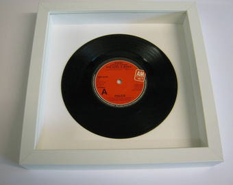 The Police Roxanne Message In A Bottle Sting Walking On The Moon Every Little Thing She Does Is Magic Special Unique Wall Framed Record Gift