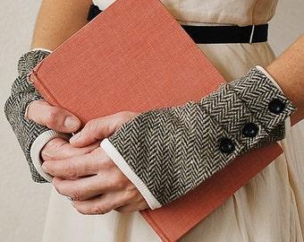 Dalliance Gloves sewing e-pattern  fingerless gloves sewing pdf pattern