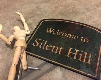 Silent Hill Town sign