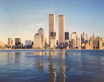 Vintage Twin Towers Print
