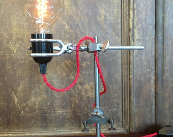 Industrial style Upcycled articulated lamp