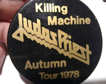 Judas Priest 1978 !!! Killing machine tour !!!brooch big, fantastic, a real fetish of the masters of heavy metal !!!
