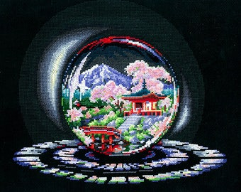 Cross Stitch Kit Create With Your Hands   - Balls of Desires ; Spring Caprice