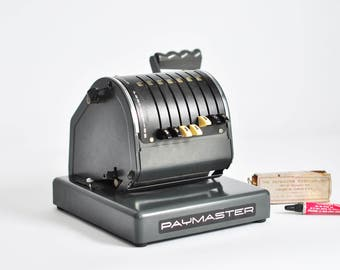 Paymaster Series X-900 Check Writing Machine