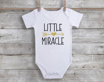 Little Miracle Baby Onesie Bodysuit