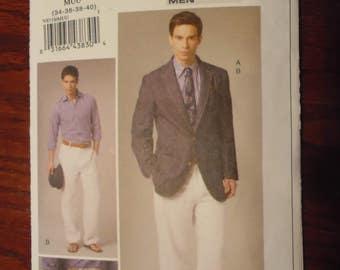 Sewing pattern Vogue 8719 Men's jacket and pants new uncut size 34-40