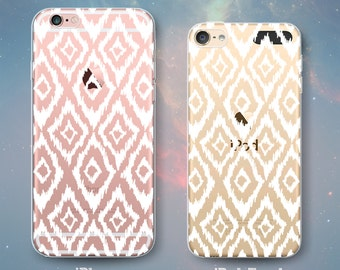 Diamond Scribble Pattern Clear Rubber Case for iPhone 7 Plus iPhone 7 iPhone 6s 6 Plus iPhone 6s 6 iPhone 5s 5 5c iPhone SE iPod Touch