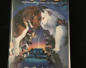 Cats and Dogs on VHS