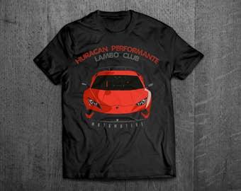 Lamborghini shirts, Lambo t shirts, Lambo Huracan t shirts, men tshirts, women t shirts, muscle car shirts, Cars t shirts, Italian car shirt