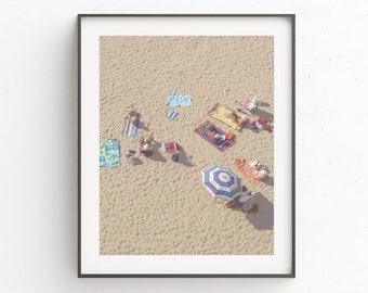 Beach Art Print Beach Wall Print Coastal Decor Beach Art Beach Decor Wall Art Beach Wall Decor Printable Wall Art Home Decor Seaside Print