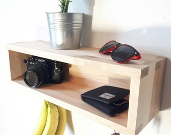 Entryway organizer, empty pocket, floating console table, console, Tablet