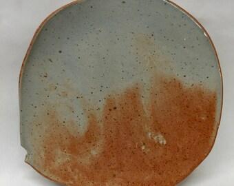 Blue-gray & copper plate