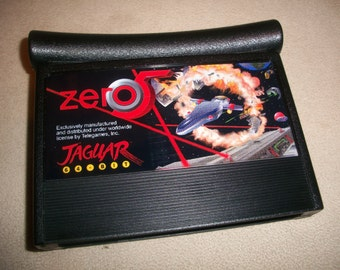 Zero 5 Atari Jaguar Reproduction Game