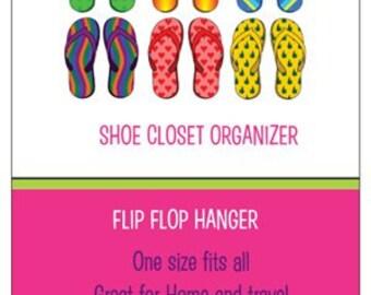 Closet Organizer / Sandal Hanger