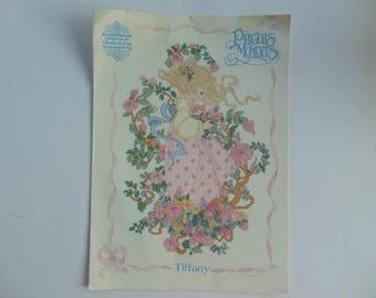 Precious Moments TIFFANY Cross Stitch Gloria and Pat Design