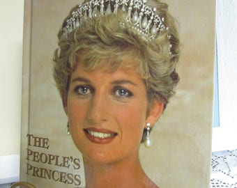 Lady Diana Book VINTAGE The People's Princess 1961-1997 VTG 140 Pages in color VINTAGE memories of Lady Diana Spencer