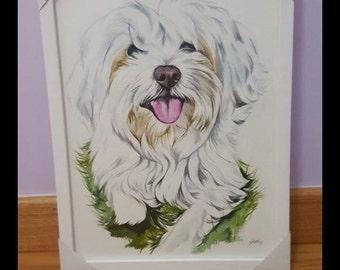 Custom real watercolor