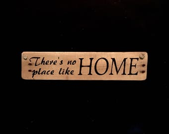 Theres No place like home Sign Reclaimed Wood Sign Home Sign Welcome Home Sign Rustic Wood Sign Rustic Home Decor Dorothy Wizard of Oz #2724