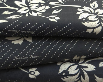 Decorative Cotton Fabric For Sewing Designer Black Cotton Fabric Floral Printed Dressmaking Sewing Quilt Crafting By The Yard ZBC6372
