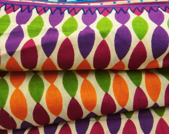 Dressmaking Fabric Cotton Fabric For Sewing Designer Multicolor 100% cotton sewing fabric abstract print for crafting by the yard ZBC6544