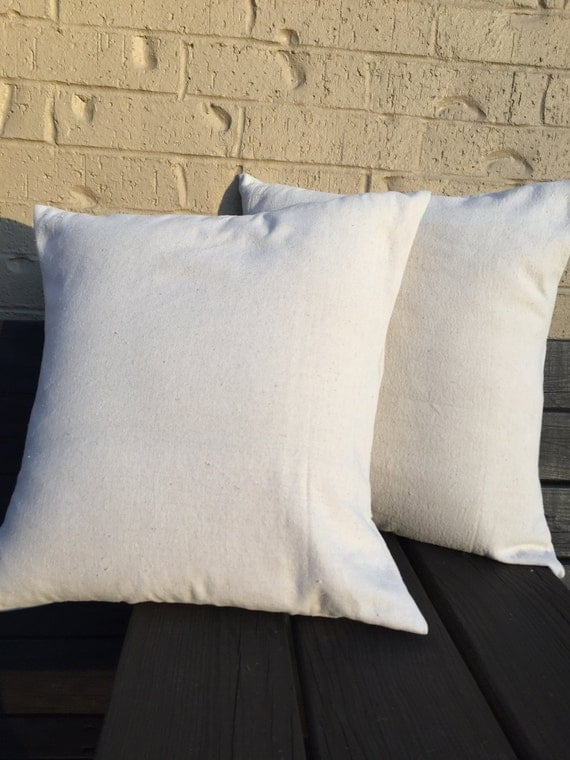 Blank Decorative Pillow Covers : Blank Canvas Pillow Cover Blank Pillow Cover Throw Pillow