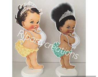 Tiara Baby Centerpiece