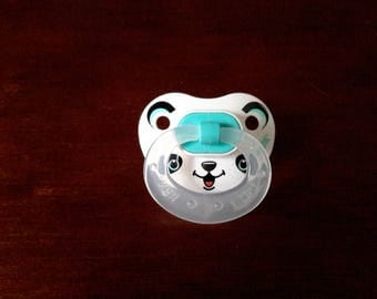 Cute panda bear pacifier for reborn baby dolls. Magnetic or putty. Your choice! !