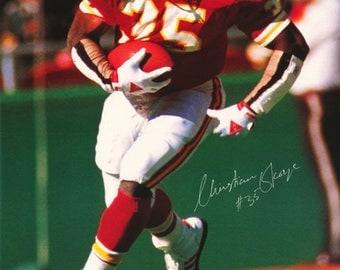 Christian Okoye Kansas City Chiefs 1990 Poster