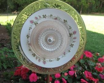 Plate Garden Flower