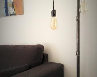 Floor lamp for 2 bulbs