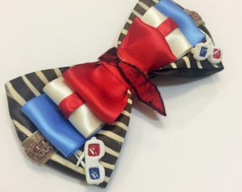 10th Doctor inspired Hair Bow