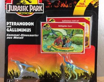 Jurassic Park Pteranodon and Gallimimus Die Cast