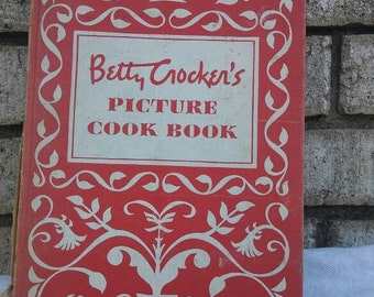 1950 first edition Betty Crockers Picture Cook Book