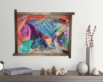 Original Abstract painting by DriSkee