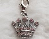 Princess Crown Bling Charm - Clip-On - Ready to Wear