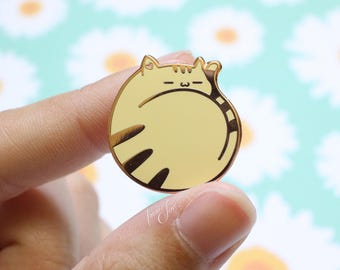 Cozy Kitty - Hard Enamel Pin