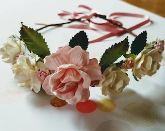 DIY Paper Flower Crown Kit
